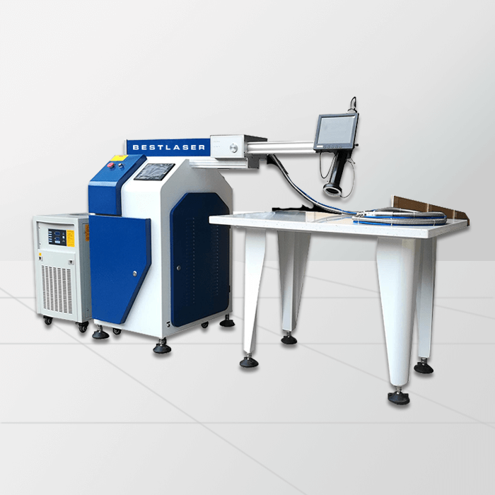 Double Path Channel Letter Laser Welding Machine with 5m Fiber Cable