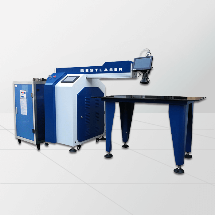 300w 400w Stainless Steel Aluminum Channel Letter Laser Welder