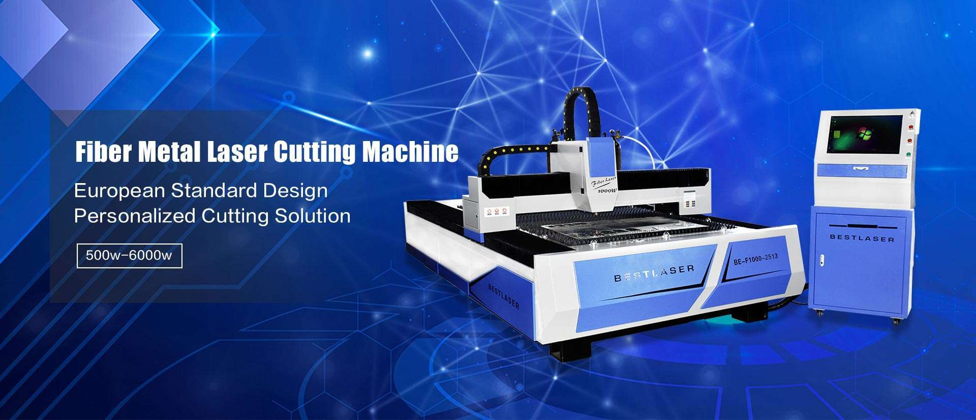 High Precision Fiber Metal Laser Cutting Machine