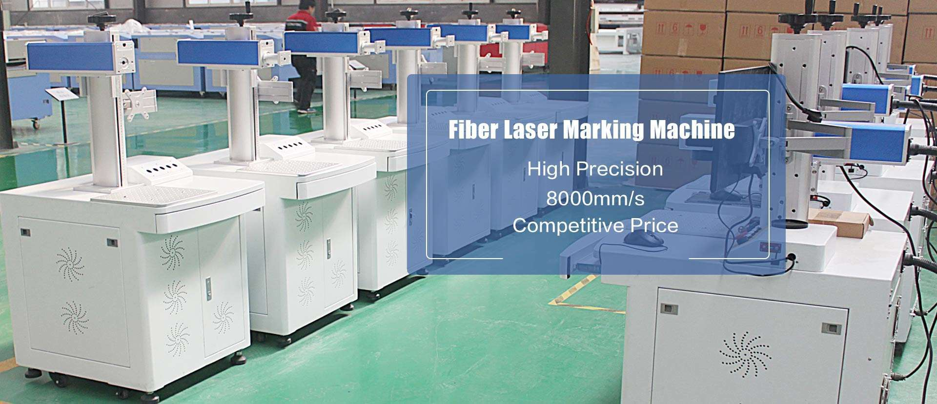 Best Laser Fiber Metal Laser Marking Etching Machine